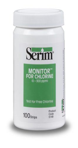 0-300 ppm chloor teststrip